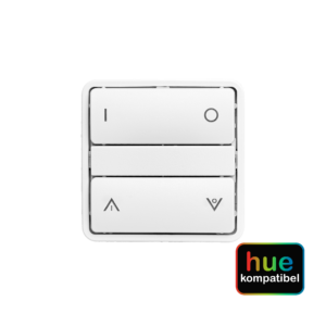 Hue kompatibel zigbee batteritryk med symboltangenter Fuga Hvid