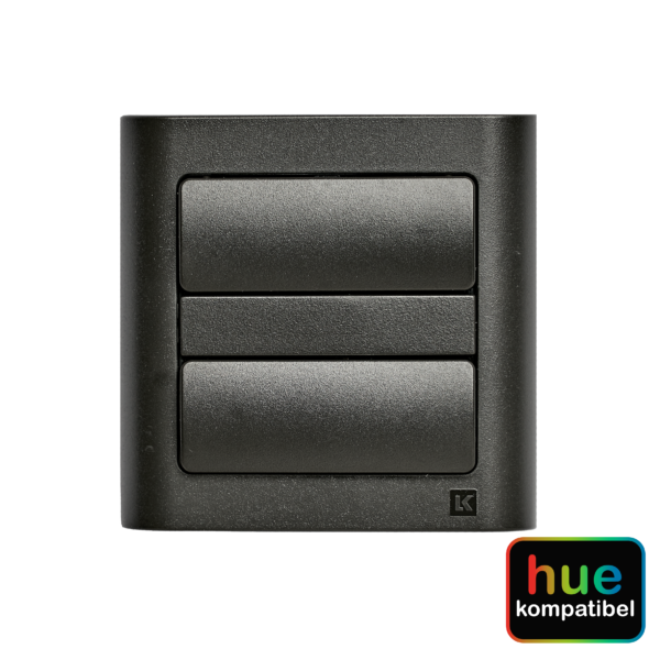 Hue kompatibel zigbee batteritryk Fuga koksgrå