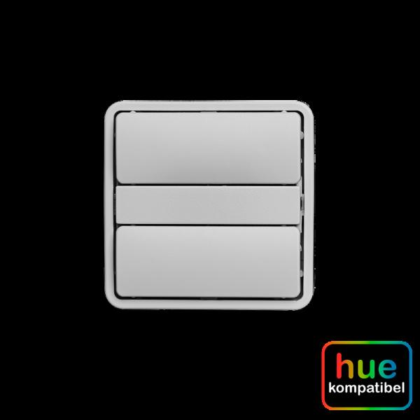 Hue kompatibel zigbee batteritryk Fuga lysegrå